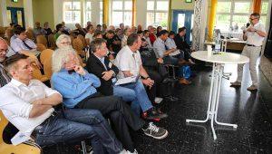 Im Mai gab es zuletzt eine Bürgerinfoveranstaltung zum Westbad.