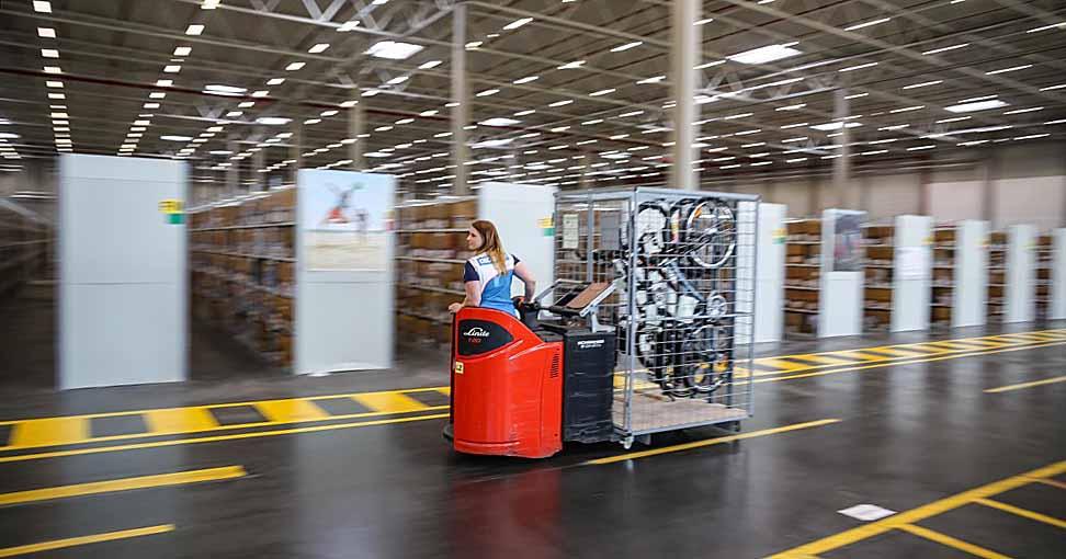 Auch wenn es nicht danach aussieht, im Decathlon-Logistikzentrum werden bis zu 700 Menschen arbeiten.