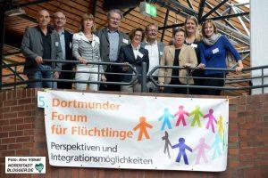 In Dortmund gibt es ein großes und leistungsstarkes Netzwerk in der Flüchtlingshilfe.