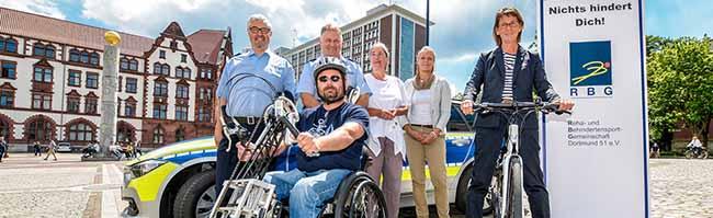 """""""Bike ma' anders"""": Inklusions-Aktionstag zum Radfahren für Alle am Samstag auf den Friedensplatz in Dortmund"""