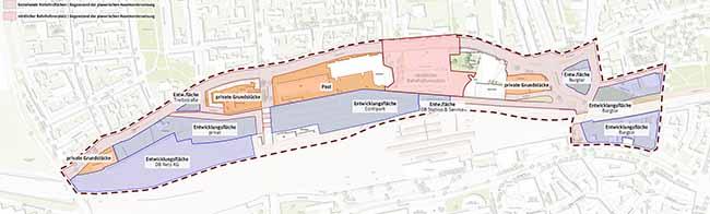 Städtebaulicher Wettbewerb mit internationaler Beteiligung für ein neues Stadtquartier zwischen Unionstraße und Burgtor