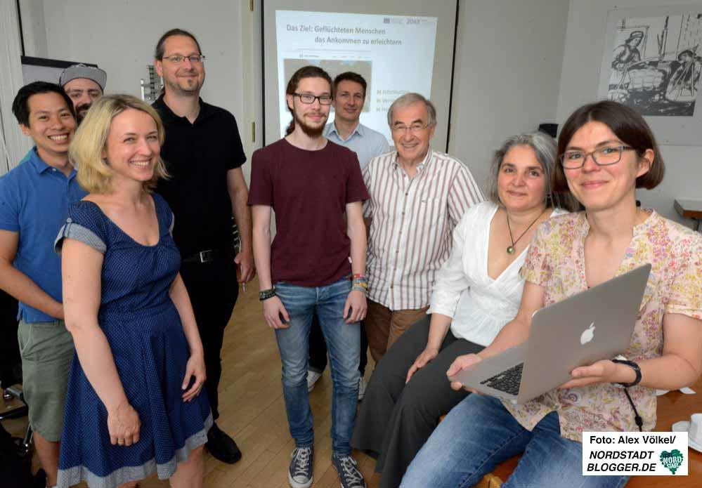 Das Netzwerk Ehrenamtliche in der Flüchtlingshilfe Dortmund hat mit externen PartnerInnen die neue Plattform realisiert.