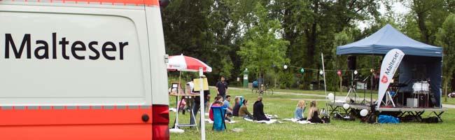 Flüchtlingshilfe: Der Integrationsdienst der Malteser in Dortmund lud zum Sommerfest im Fredenbaumpark