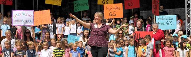Sonntag ist Musikschultag: 1500 MusikschülerInnen und 200 Lehrkräfte wollen die Nordstadt zum Klingen bringen