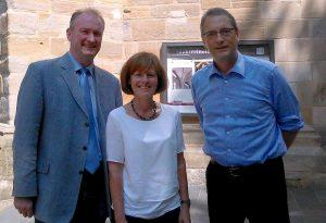 Michael Stache, Ulf Schlüter und Andrea Auras-Reiffen freuen sich auf den Kreiskirchentag. Foto: HBS