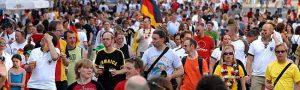 Dortmund konnte als WM-Austragungsort glänzen. Ob auch bei der EURO 2024, ist offen.