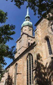 An der St.Reinoldi-Kirche wird die Veranstaltung stattfinden. Foto:
