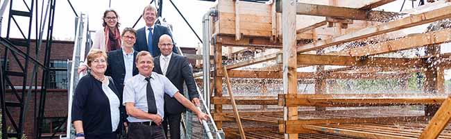 Regenwasser-Trennung auf der Kokerei Hansa: Millionen-Investition in den Umweltschutz macht Geschichte erlebbar