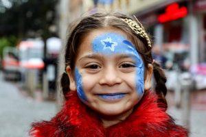 Vor allem den Kindern wird während der Internationalen Woche einiges geboten. Foto: NSB-Archiv