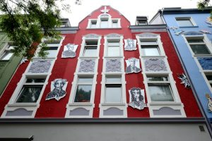 Die Schleswiger Straße 40 erinnert an die Dortmunder Edelweiß-Piraten.