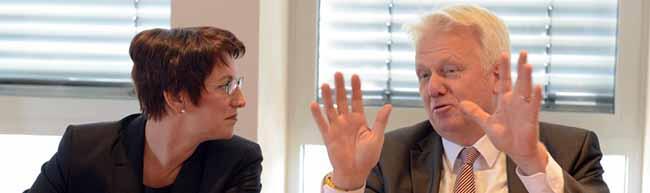 DEW21 hat erstmals eine Chefin: Heike Heim steht an der Spitze des kommunalen Versorgungsunternehmens