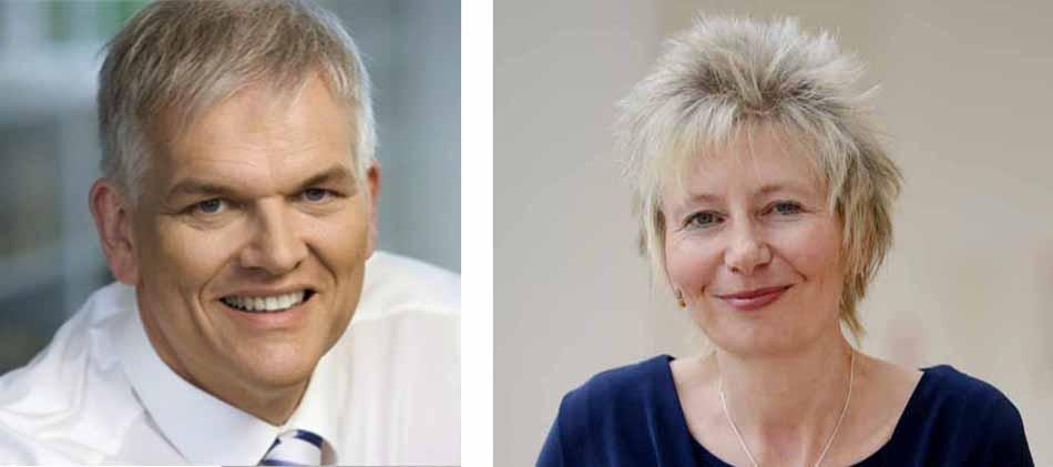 Hans Josef Vogel wird Diana Ewert als Regierungspräsident ablösen.