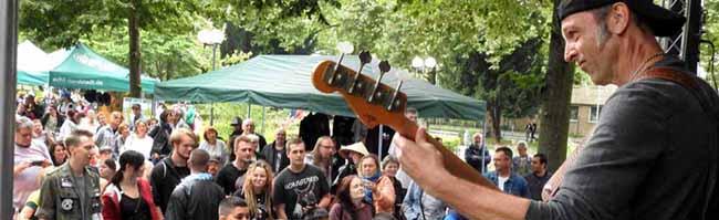 """FOTOSTRECKE: Drei Bands aus Dortmund bei der 100. """"Musik.Kultur.Picknick""""-Veranstaltung auf dem Nordmarkt"""