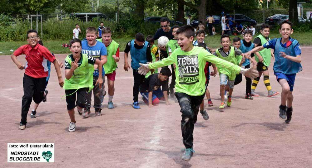 Die Nordstadtliga erfreut sich unter Kindern und Jugendlichen großer Beliebtheit. Foto: Wolf-Dieter Blank