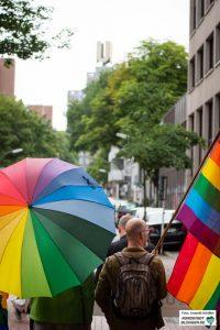 Regenbogenfarben am 30. Juni auch in Dortmund.