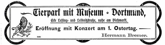 """SERIE Nordstadt-Geschichte(n): """"Zum Thierpark"""": Lebende Tiere und Ausstellung sollten Gäste in die Kneipe locken"""