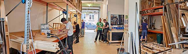Urbanisten-Manufaktur: Die offene und professionelle Werkstatt für Jedermann im Unionviertel Dortmund