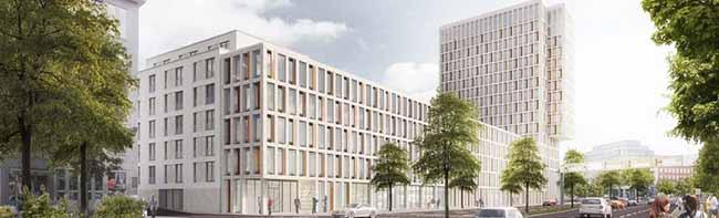 Volkswohlbund-Versicherung stellt Pläne für Erweiterung der Hauptverwaltung vor – Neubau soll bis Anfang 2019 fertig sein