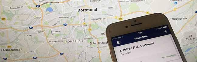 NINA warnt die Bevölkerung: Dortmunder Feuerwehr setzt eine kostenlose Warn-App für Notfall-Informationen ein