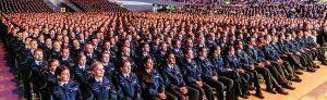 Die 1.920 Polizistinnen und Polizisten des Einstellungsjahrgangs 2016 haben in der Dortmunder Westfalenhalle ihren Eid auf die Landesverfassung geschworen.