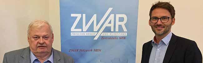 Ex-Minister Guntram Schneider ist neuer ZWAR-Vorsitzender –Renommierte Institution für erfolgreiche Seniorenarbeit