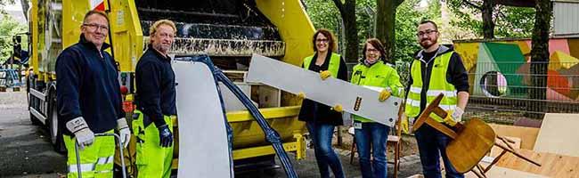 Sperrmüllaktion am Borsigplatz: Besseres Verständnis für Müllentsorgung und Sauberkeit im Nordstadt-Quartier