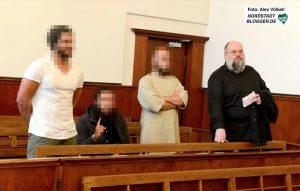 Vier Glaubensbrüder waren als Besucher gekommen - darunter auch der bekannte Salafist ud frühere Linksterrorist Bernhard Falk.