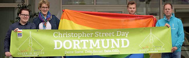 Der 21. Christopher-Street-Day lockt am 9. September zum Friedensplatz – Demo startet erstmals am Nordmarkt