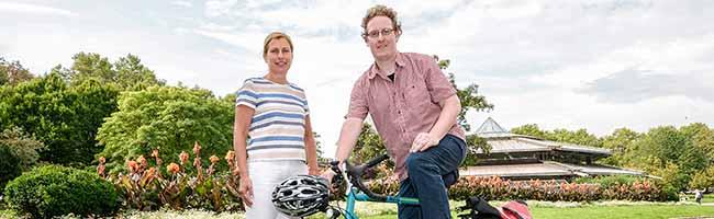 Ehrenamtlicher Aktivist strampelt sich jetzt in Dortmund als städtischer Bediensteter für Fußgänger und Radfahrer ab