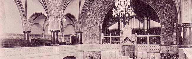 """SERIE Nordstadt-Geschichte(n): Die Orgel der Synagoge in Dortmund und ihr """"Umzug"""" in die kath. Gertrudis-Kirche"""
