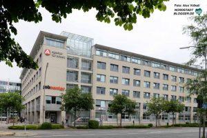 An der Steinstraße in der Nordstadt in ist die Zentrale von Agentur für Arbeit und Jobcenter in Dortmund.