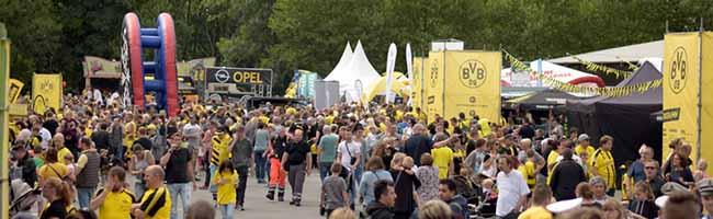 FOTOSTRECKE: BVB-Familienfest und die Vorstellung der Mannschaft locken 25.000 Fans zum Signal-Iduna-Park