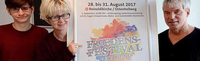 """""""Demokratie stärken"""": Viertägiges Friedensfestival und Antikriegstag in Dortmund – Rechtspopulismus im Visier"""