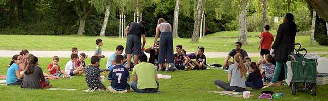 """""""Stern im Norden e.V."""" stellt durch Quartiersfonds zusätzliche Spielmöglichkeiten für Kinder im Hoeschpark bereit"""