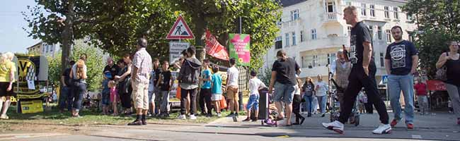 Drittes Still-Leben Borsigplatz in der Nordstadt – Tischreservierungen sind bis zum 20. August möglich