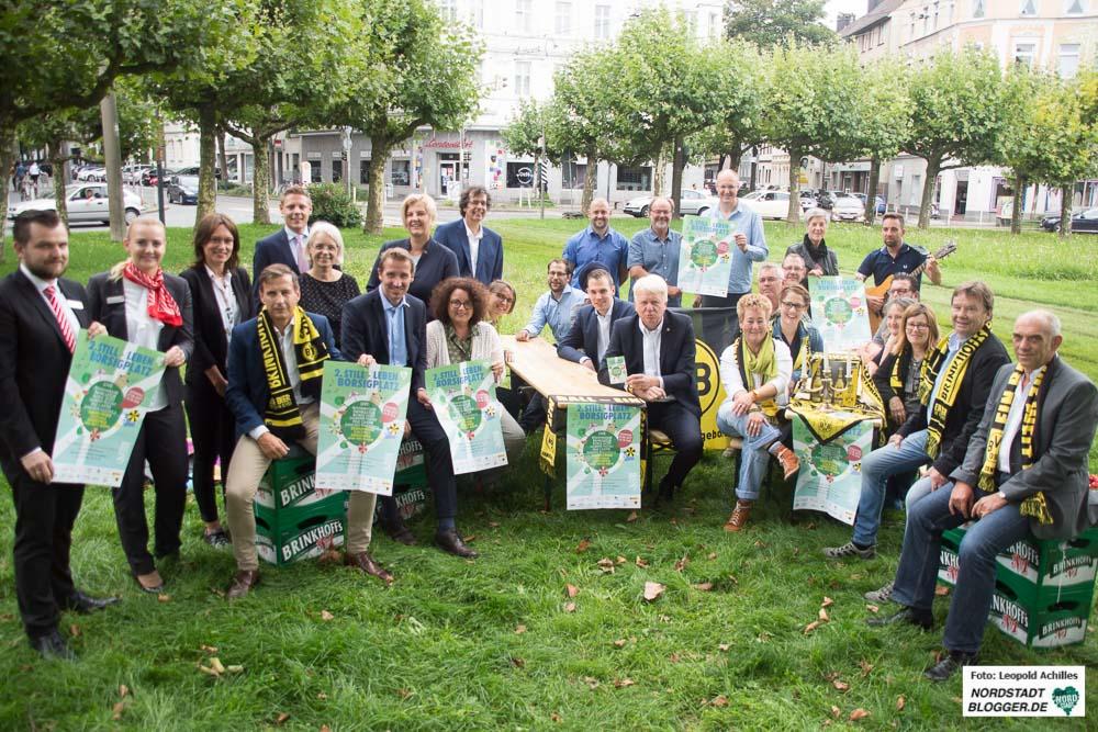 """Die Vielzahl an Unterstützern freut sich bereits auf die zweite Ausgabe des """"Still-Leben Borsigplatz""""."""