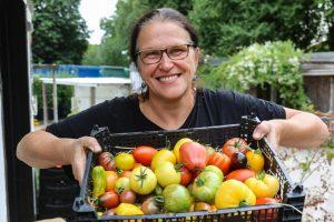 Rita Breker-Kremer ist Leiterin der Werkhof-Gärtnerei in Grevel und ist eine gefragte Fachfrau.