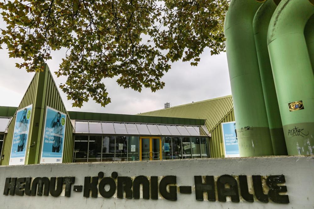 Die Helmut-Körnig-Halle soll bis 2020 erweitert werden.