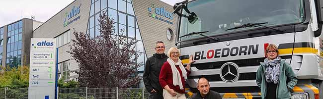 Die Tafel in Dortmund bekommt logistische Unterstützung: Die Spedition Bloedorn und die Atlas-Schuhfabrik helfen