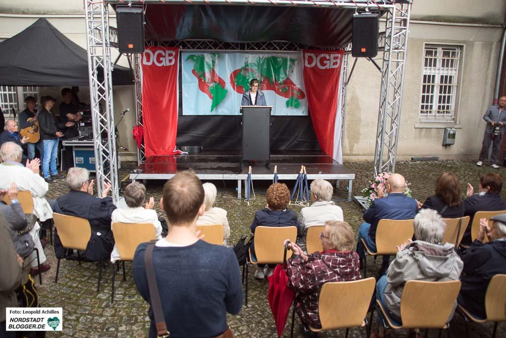 Die jährliche DGB-Gedenkveranstaltung zum Antikriegstag findet wieder vor und in der Steinwache am Hauptbahnhof statt. Die Aktionseinheit plant eine Demonstration im Vorfeld.