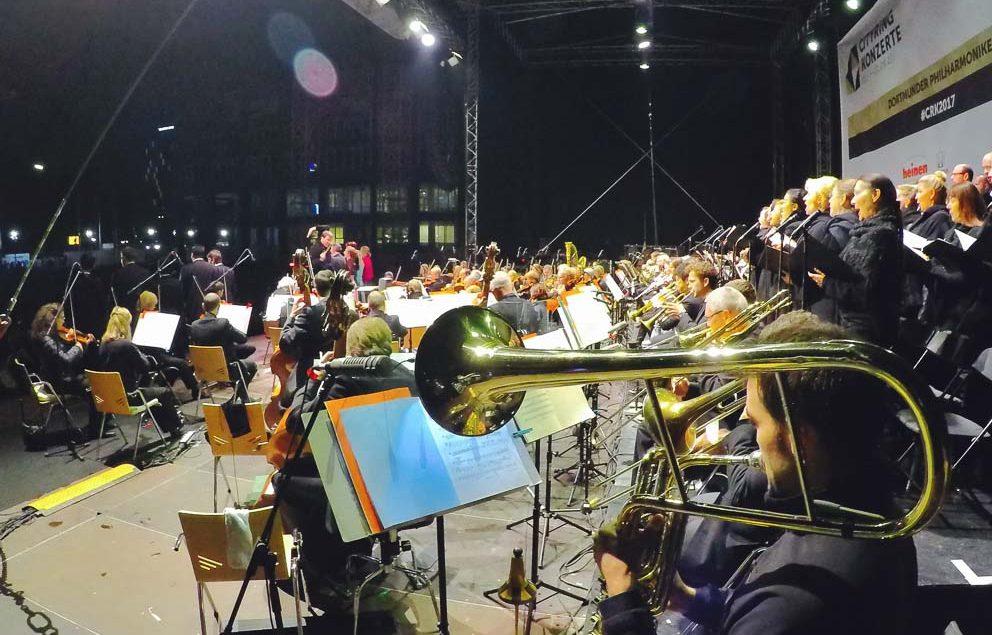 Auf dem Friedensplatz fanden vom 01. bis zum 03. September 2017 die Cityring-Konzerte statt.