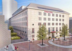 So soll das Dortberghaus künftig aussehen. Visualisierung: B&L Gruppe und A-SL-Baumanagement/ Architekt Ralf Schulte Ladbeck