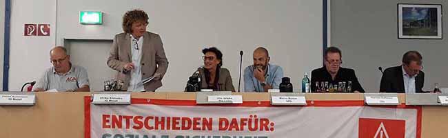 Bundestagswahl: Debatte der IG Metall zu Rente und sozialer Sicherheit – zwischen Wahlkampf und Wirklichkeit