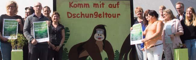 """Kinder- und Familienfest im Hafenquartier – Die Nordstadt-Hafenrunde lädt ein: """"Kommt mit auf Dschungeltour!"""""""