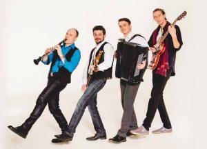 Auch die Gruppe Klezmer Tune kommt nach Dortmund.