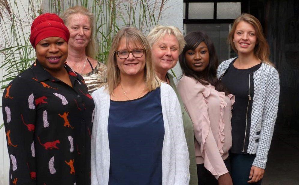 Mitarbeiterinnen der Mitternachtsmission. Foto: Mira Kossakowski