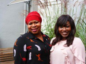 Binta Jallow und Marieme Gueye unterstützen die Mitternachtsmission mit ihren Sprachkenntnissen.