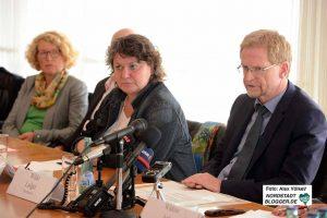 Ludger Wilde, Diane Jägers und Martina Raddatz-Nowack informierten.