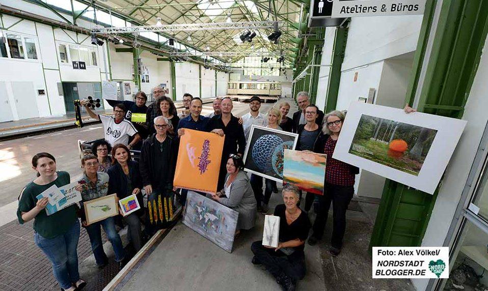 69 KünstlerInnen unterschiedlichster Sparten beteiligen sich. Foto: Alex Völkel