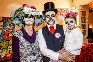 """Im Projekt-Speicher in der Nordstadt wurde """"Día de Muertos"""" gefeiert."""